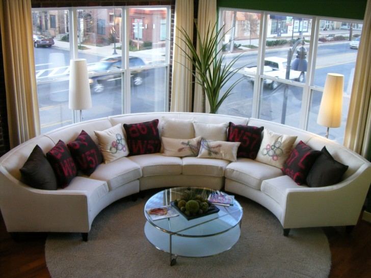 Furniture Marvelous Oval Sectional Sofas Give A Remarkable Look Inside Oval Sofas (View 6 of 15)