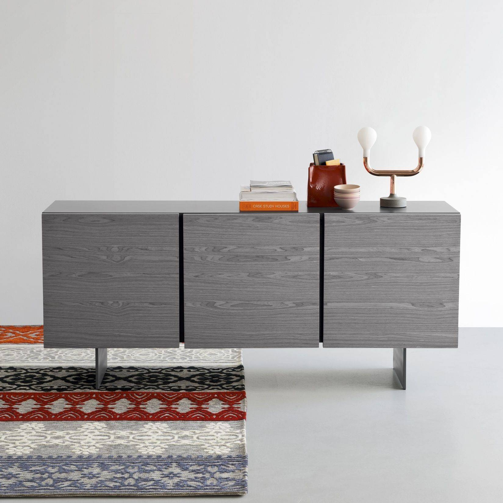 Furniture: Ottawa Modern Sideboard White Join Furniture And Tall Intended For Modern Living Room Sideboards (#15 of 20)