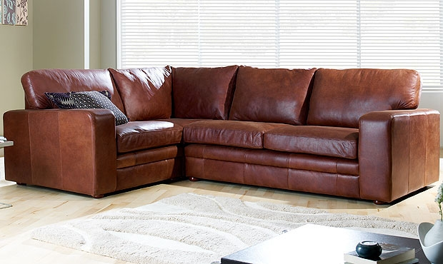 Furniture Sale Natuzzi Editions A845 Chocolate Brown Leather Sofa Within Small Brown Leather Corner Sofas (#7 of 15)