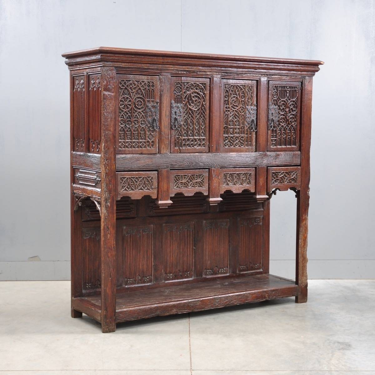 Furniture: Vintage Sideboards And Buffets | Antique Credenza Throughout Retro Sideboards (#6 of 20)