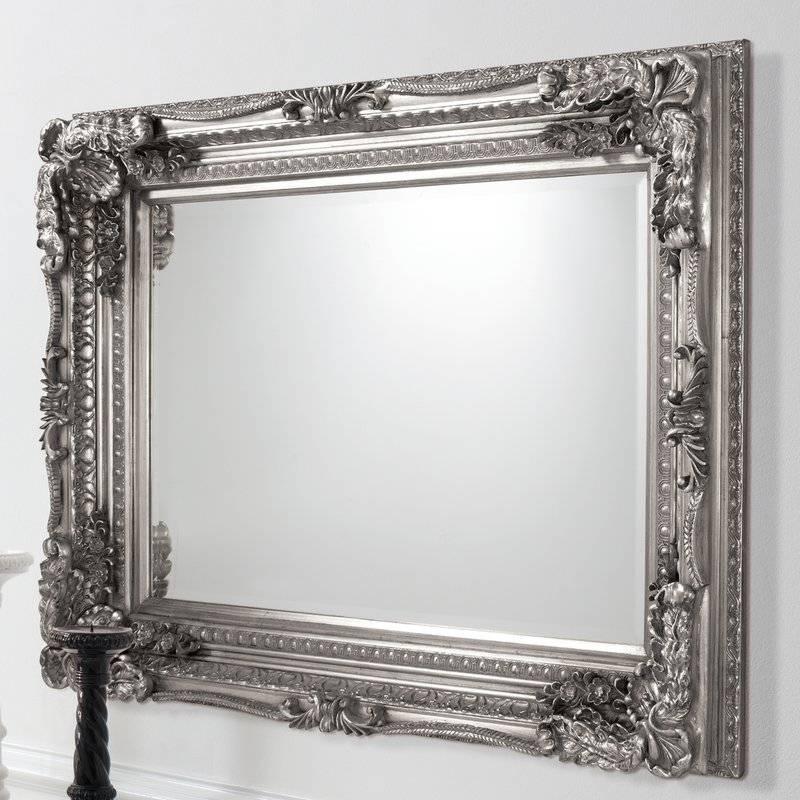 Gallery Carved Louis Full Length Mirror & Reviews | Wayfair.co (#13 of 20)