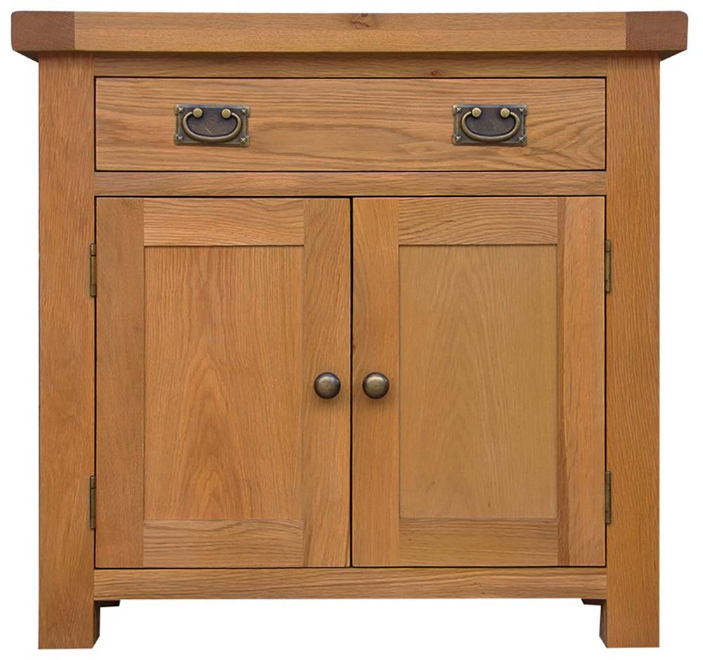 Galloway Oak Hall Sideboard – Glenross Furniture Throughout Hall Sideboard (View 7 of 20)