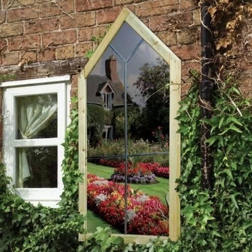 Garden Mirror 17 Best 1000 Ideas About Outdoor Mirror On Pinterest For Large Outdoor Garden Mirrors (#13 of 15)