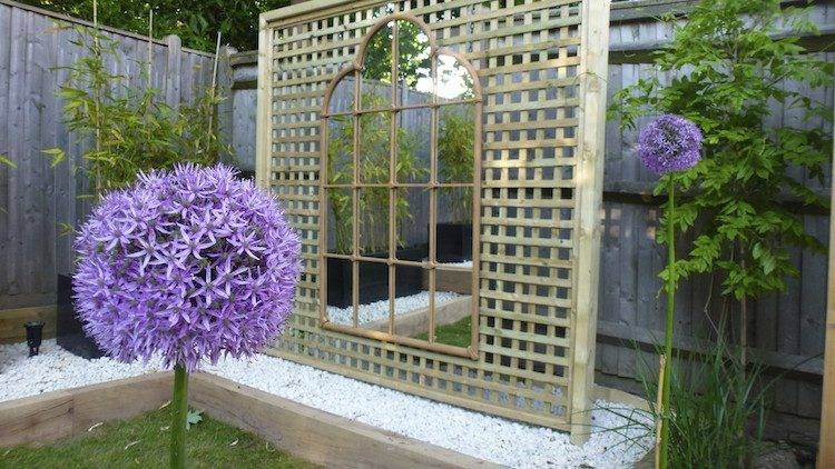 Garden Mirror – Clever Ideas To Expand The Space And Tweak The Regarding Large Garden Mirrors (#18 of 30)