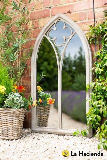 Garden Mirror | Ebay Pertaining To Gothic Garden Mirrors (#14 of 30)