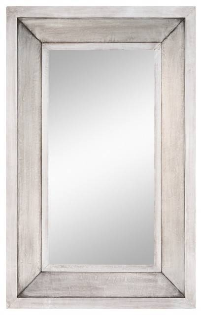Popular Photo of Silver Rectangular Bathroom Mirrors