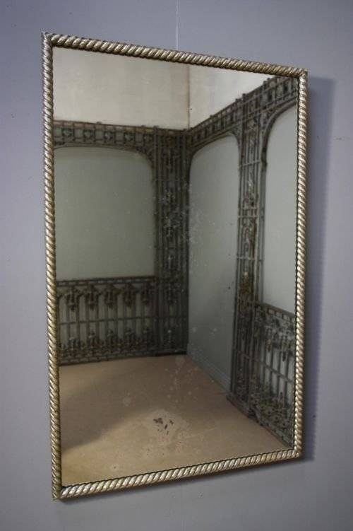 Inspiration about Georgian Silver Gilt Antique Mirror. | 95586 | Sellingantiques.co.uk In Silver Antique Mirrors (#13 of 20)
