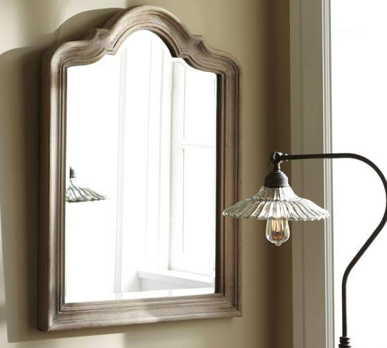 Germain Arched Mirror | Pottery Barn With Arched Bathroom Mirrors (#16 of 20)