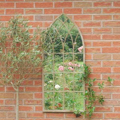 Get Inspired: Using Garden Mirrors – A Residence Inside Gothic Garden Mirrors (#22 of 30)