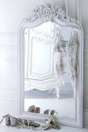 Giant Floor Mirror – Foter With Regard To Large Ornate White Mirrors (View 8 of 20)