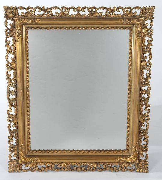 Gilt Mirror // Aspire Auctions Pertaining To Gilt Framed Mirrors (View 8 of 20)