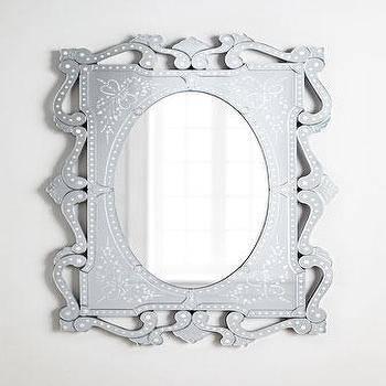 Giorgia' Venetian Style Mirror – Neiman Marcus Within Venetian Style Mirrors (#10 of 30)