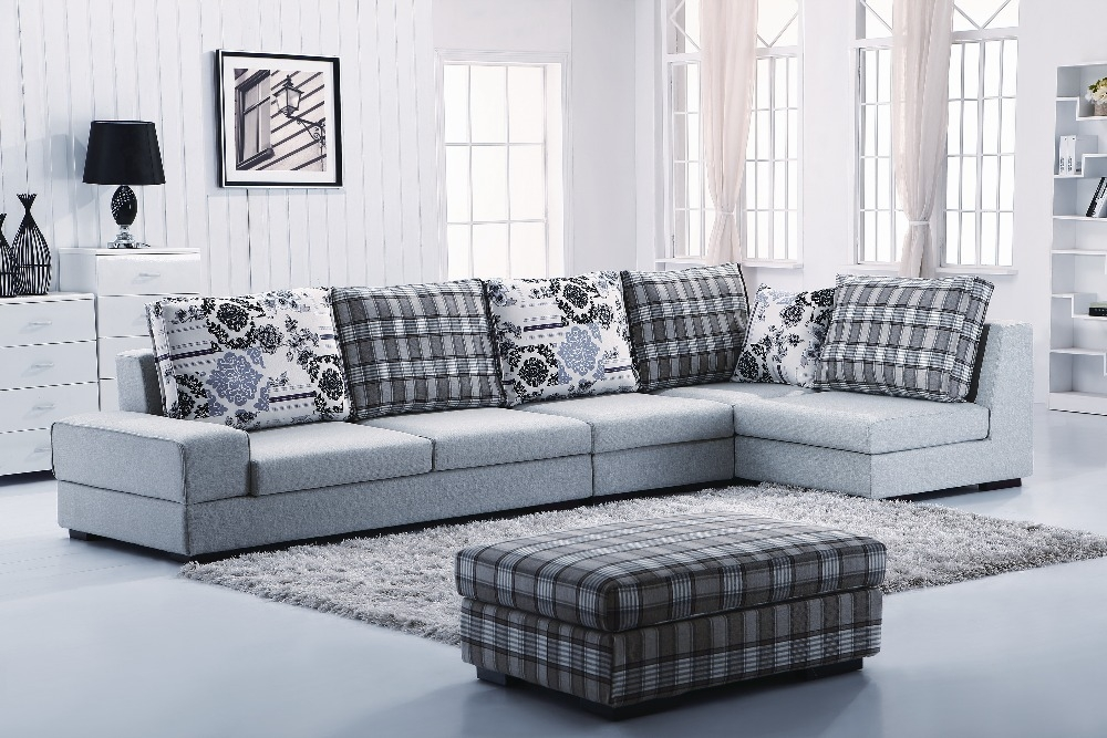 Glamorous Fabric Sofa Set L Shape 678a36793f642c0064c020ea1fc8faaa Intended For L Shaped Fabric Sofas (View 5 of 15)