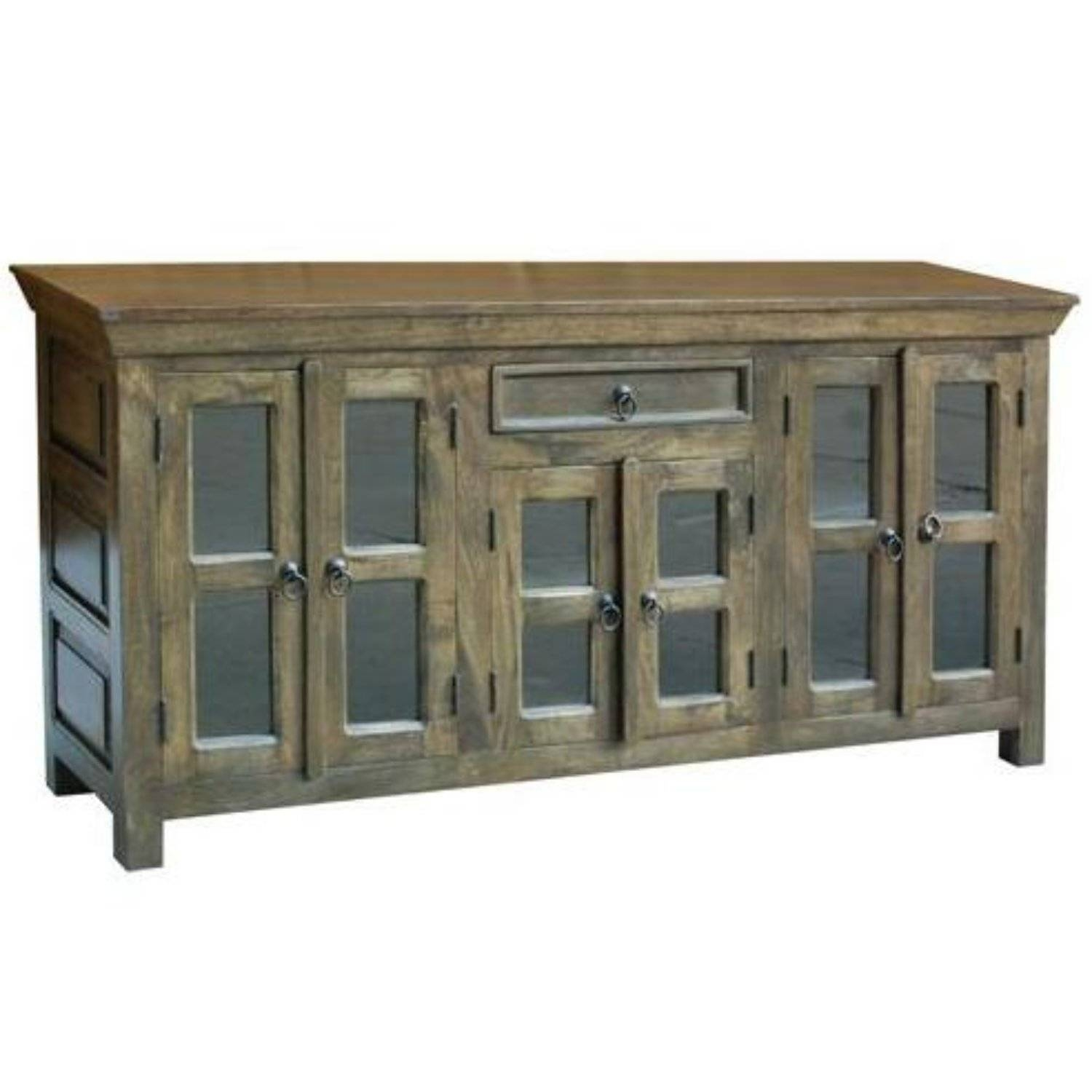 Glass Door Sideboard | Upscale Consignment Intended For Sideboards With Glass Doors (#6 of 20)