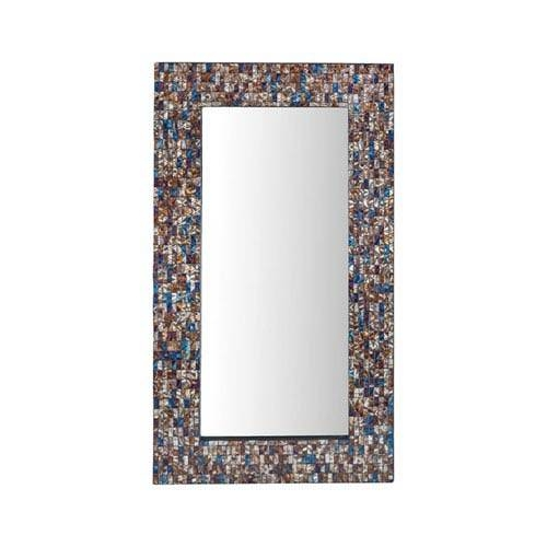 Glass Mosaic Mirror | Bellacor In Bronze Mosaic Mirrors (#21 of 30)
