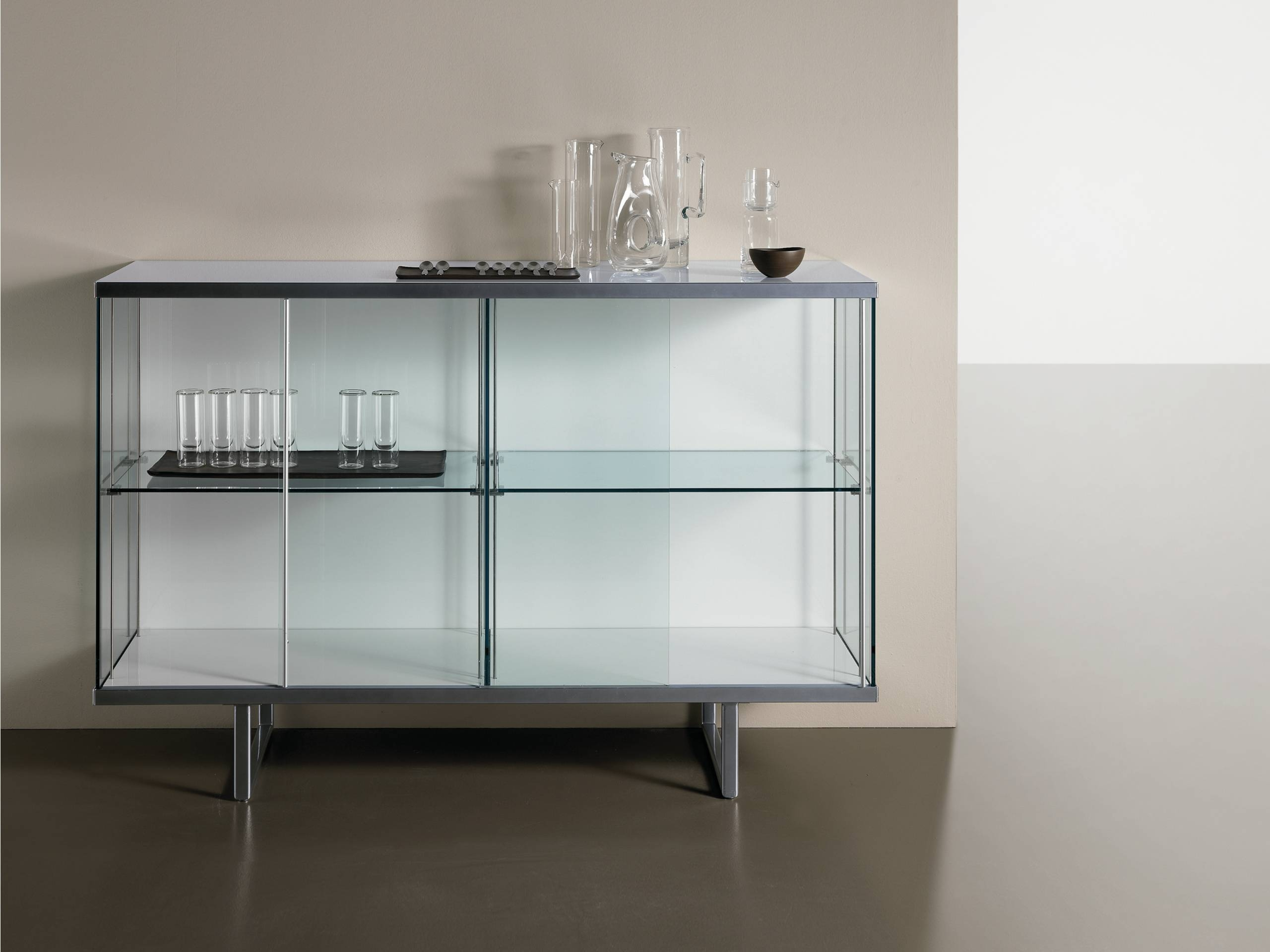 Glass Sideboards | Archiproducts Inside Glass Sideboard (#11 of 20)