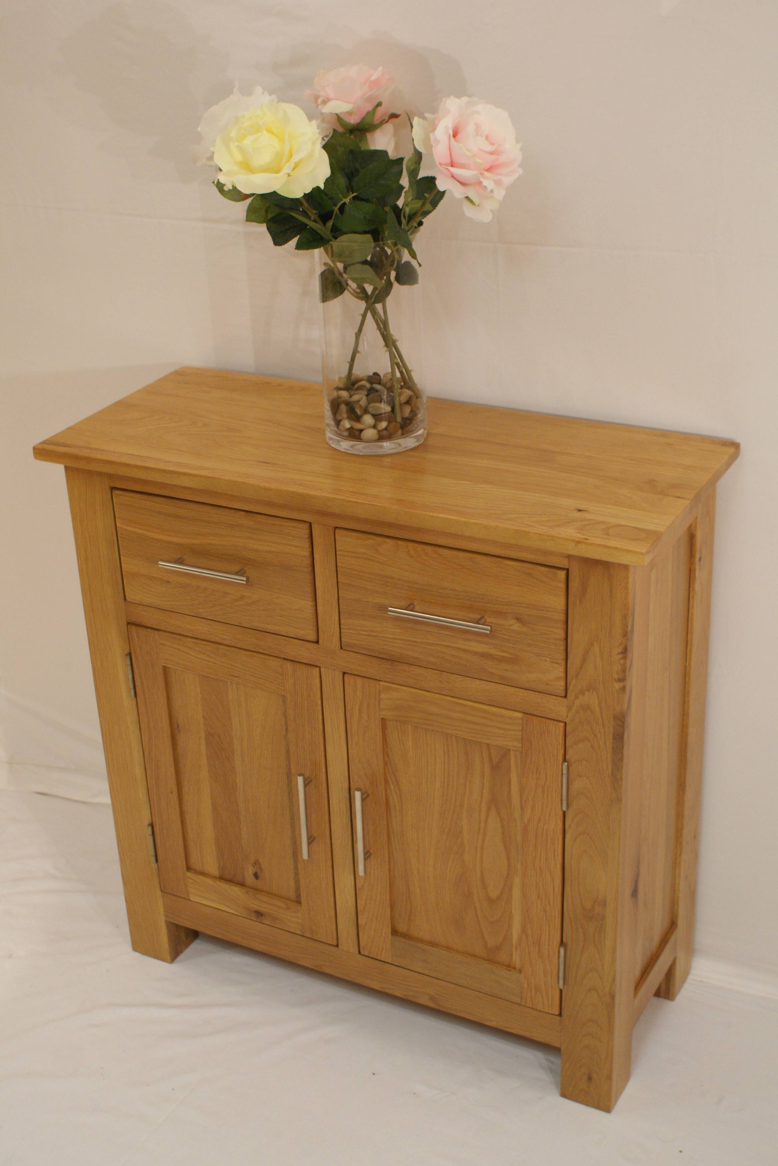 Gleneagles Oak Hall Sideboard – Glenross Furniture Pertaining To Hall Sideboard (View 8 of 20)