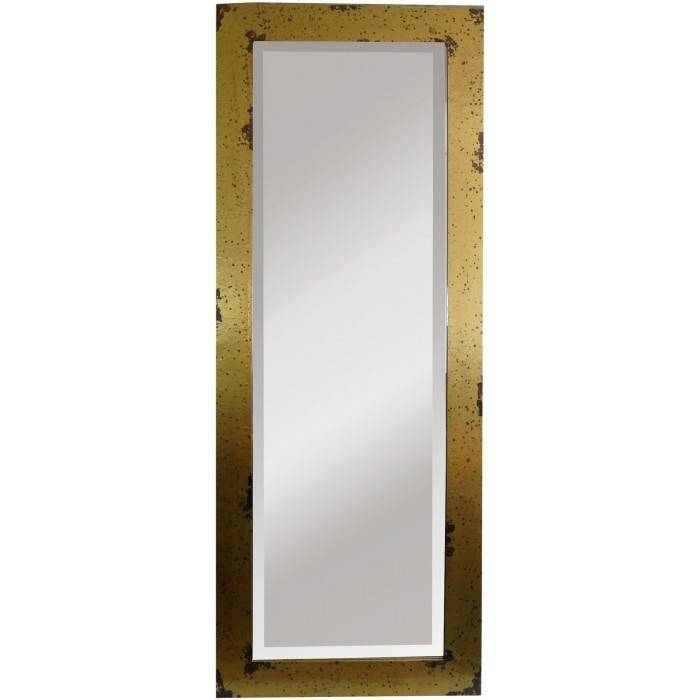 Gold Full Length Mirror In Gold Full Length Mirrors (#21 of 30)