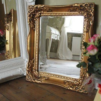 Gold Gilt Antique Reprotuscany Wall Mirror – Ayers & Graces Online Inside Gold Gilt Mirrors (#11 of 20)