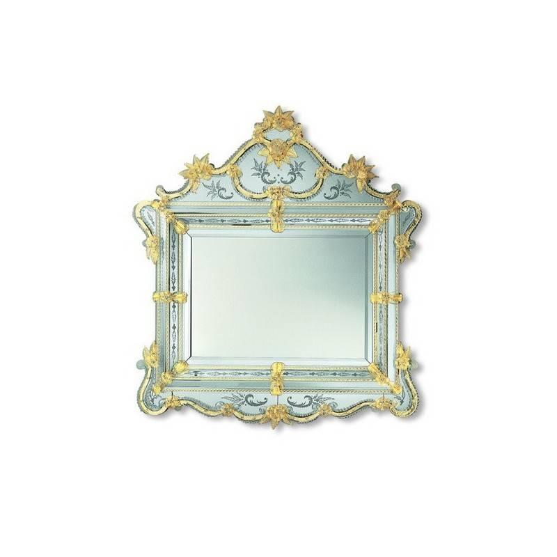 """Gold """"glenda"""" Venetian Mirror – Venetian Mirrors Intended For Gold Venetian Mirrors (#6 of 20)"""