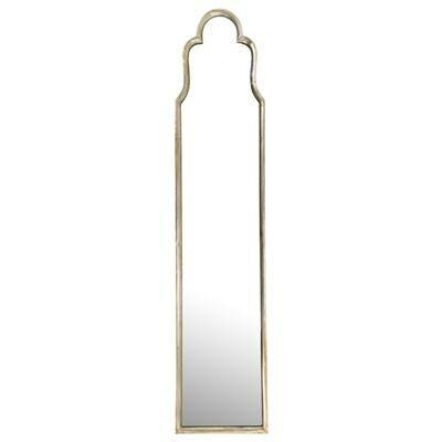 Gold Mirror In Slim Wall Mirrors (View 13 of 30)