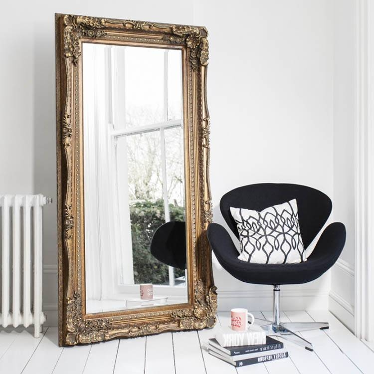 Gold Mirrors | Gold Framed Mirrors | Exclusive Mirrors Pertaining To Full Length Gold Mirrors (#21 of 30)
