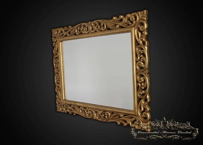 Gold Ornamental Mirrors From Ornamental Mirrors Limited Regarding Ornamental Mirrors (View 19 of 20)