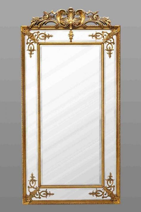 Gold Ornate Gilt Design Wall Mirror | French Mirror Company Inside French Wall Mirrors (View 19 of 20)