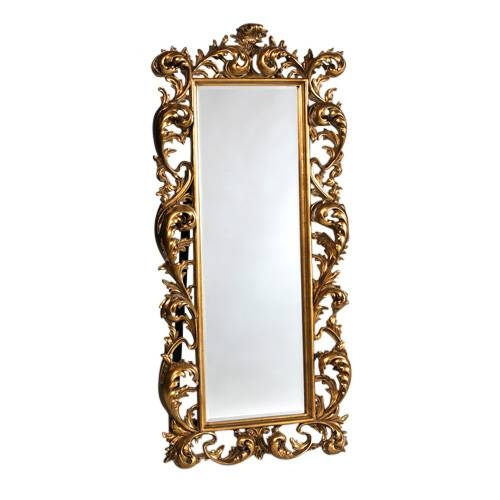 Gold Rococo French Mirror Free Standing [Ee480] : Beau Decor Regarding Gold Standing Mirrors (#20 of 30)