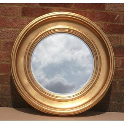Gold Round Mirrors – Ayers & Graces Online Antique Style Mirror Shop Regarding Gold Round Mirrors (View 12 of 20)
