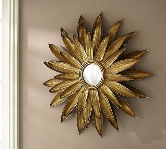 Gold Sunburst Mirror | Roselawnlutheran For Large Sunburst Mirrors (#10 of 20)