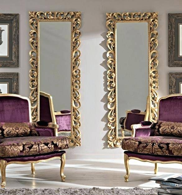 Gold Wall Mirror – Shopwiz With Regard To Gold Wall Mirrors (#18 of 30)