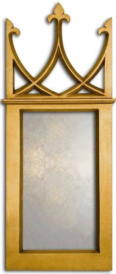 Gothic Window Mirror – Large Gothic Mirror Uk – Gothic Wall Mirror With Regard To Gothic Style Mirrors (View 20 of 20)