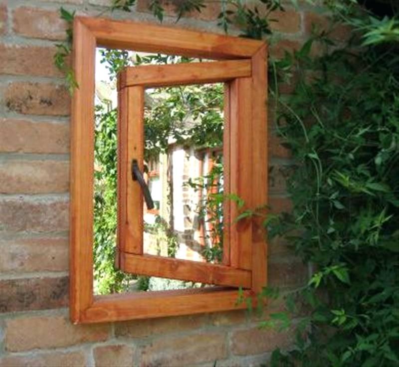 Grange Garden Mirror Gothic Windowoutdoor Window Mirrors Open Intended For Gothic Garden Mirrors (#26 of 30)