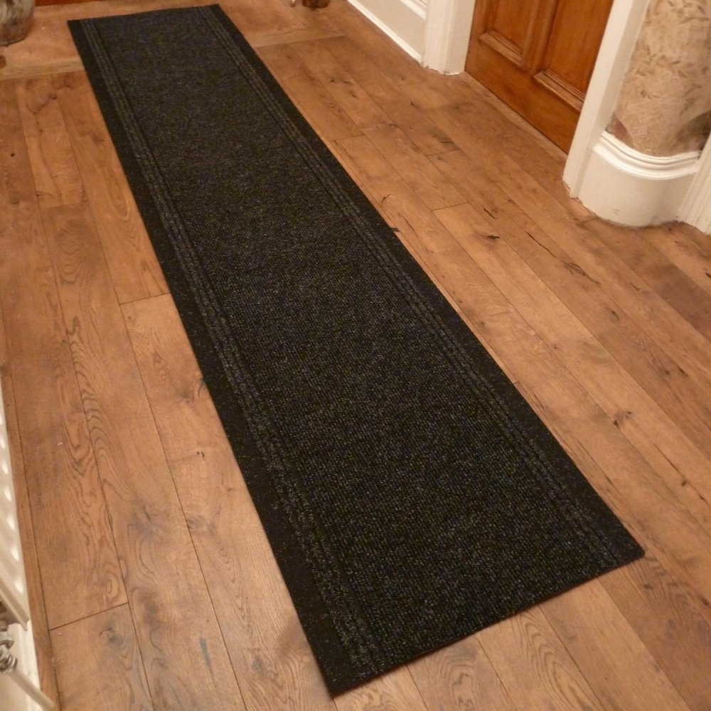 Graphite Hall Runner Rug Inca Carpet Runners Uk With Carpet Runners For Hallways (#17 of 20)