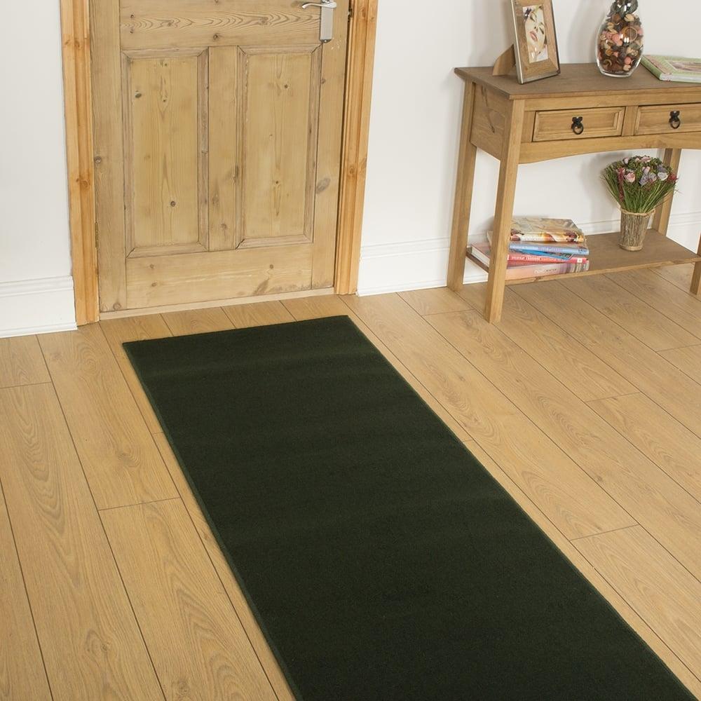 Green Hallway Carpet Runner Plain Throughout Hallway Runners Green (#13 of 20)