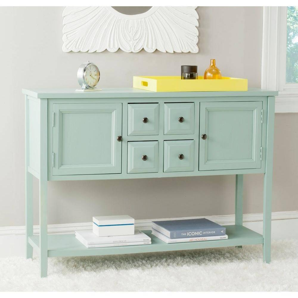 Green – Sideboards & Buffets – Kitchen & Dining Room Furniture With Regard To Unfinished Sideboards (#12 of 20)