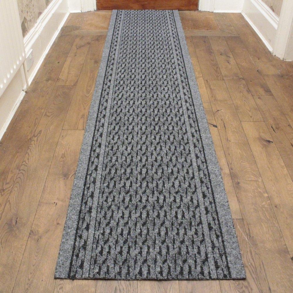 Grey Hallway Carpet Runner Rumba Regarding Runners For The Hallway (#13 of 20)