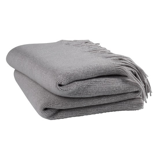 Grey Throws For Sofas Frosted Grey Mink Couture Faux Fur