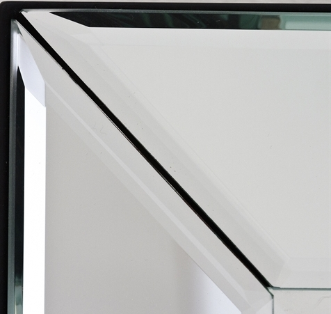 Guide To Glass Mirrors – All Purpose Glazing For Bevel Mirrors (#15 of 20)