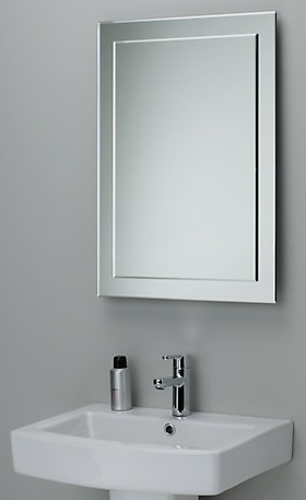 Guide To Glass Mirrors – All Purpose Glazing Intended For Bevelled Bathroom Mirrors (#15 of 20)