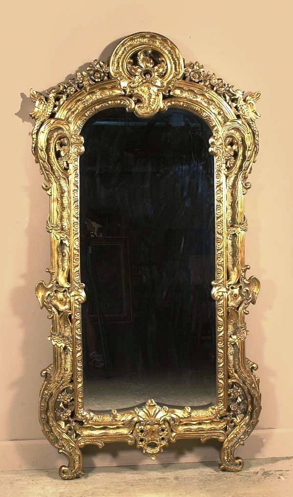 Hand Carved American Furniture That Never Came Close To A Chisel For Elaborate Mirrors (#29 of 30)
