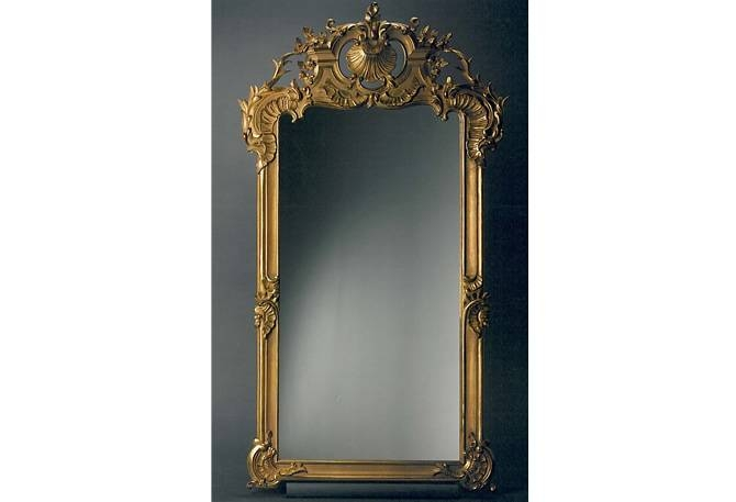 Hand Carved Frames Mirrors Period Style Rustic Chic Metropolitan Regarding Ornamental Mirrors (View 13 of 20)