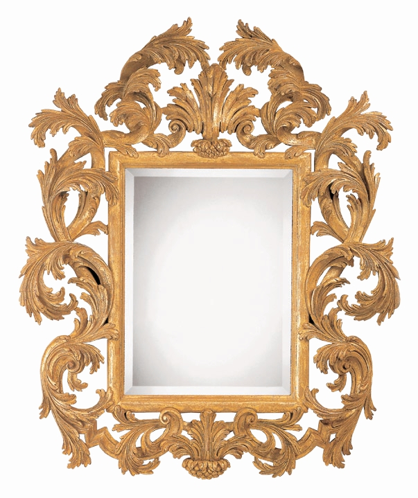 Hand Carved Gilded Mirror Tuscany | Pavilion Broadway With Gilded Mirrors (#10 of 20)