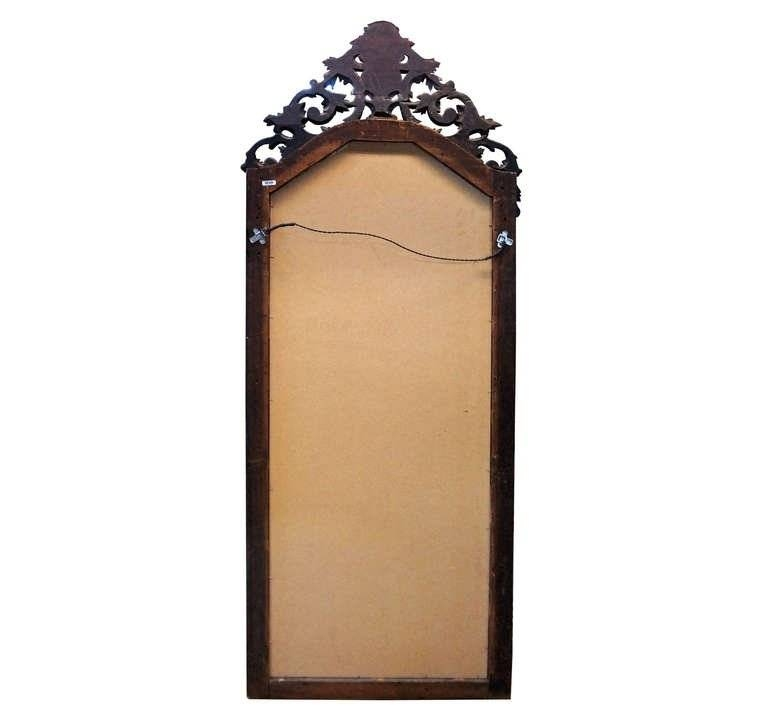 Hand Carved Victorian Full Length Patina Mirror At 1Stdibs Throughout Victorian Full Length Mirrors (#15 of 20)