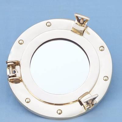 Handcrafted Nautical Decor Porthole Mirror & Reviews | Wayfair Pertaining To Porthole Mirrors (#13 of 30)