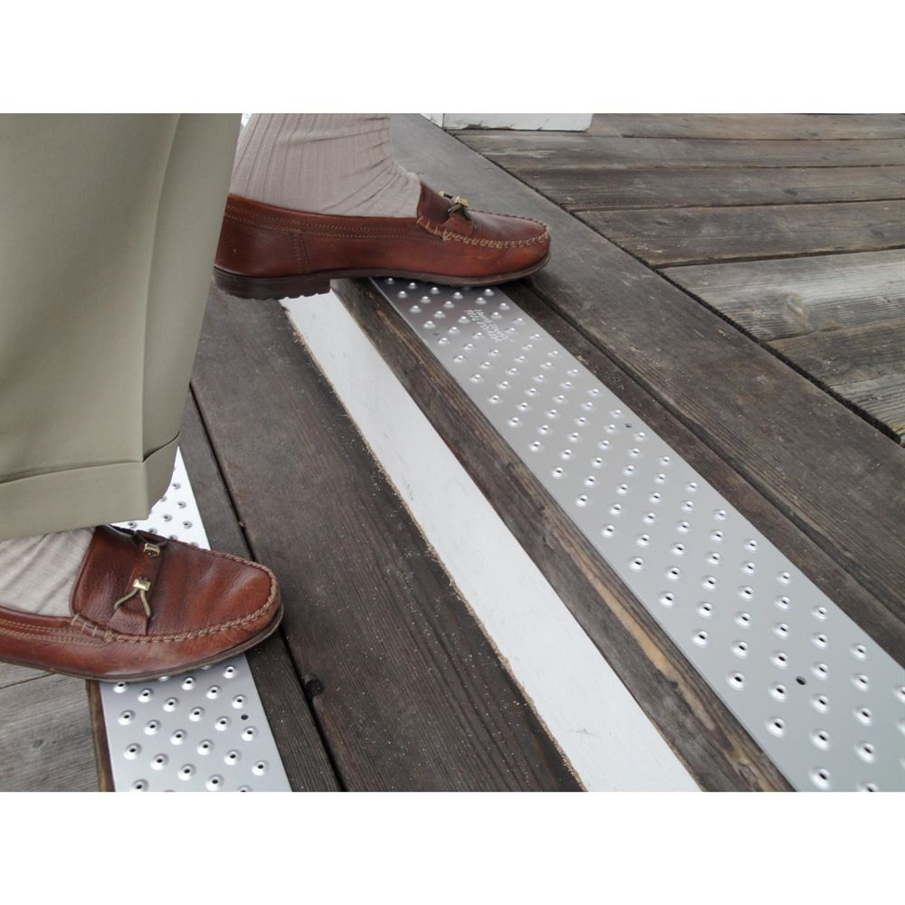 Handi Ramp Non Slip Metal Stair Treads For Outdoor Use Discount With Stair Slip Guards (#12 of 20)