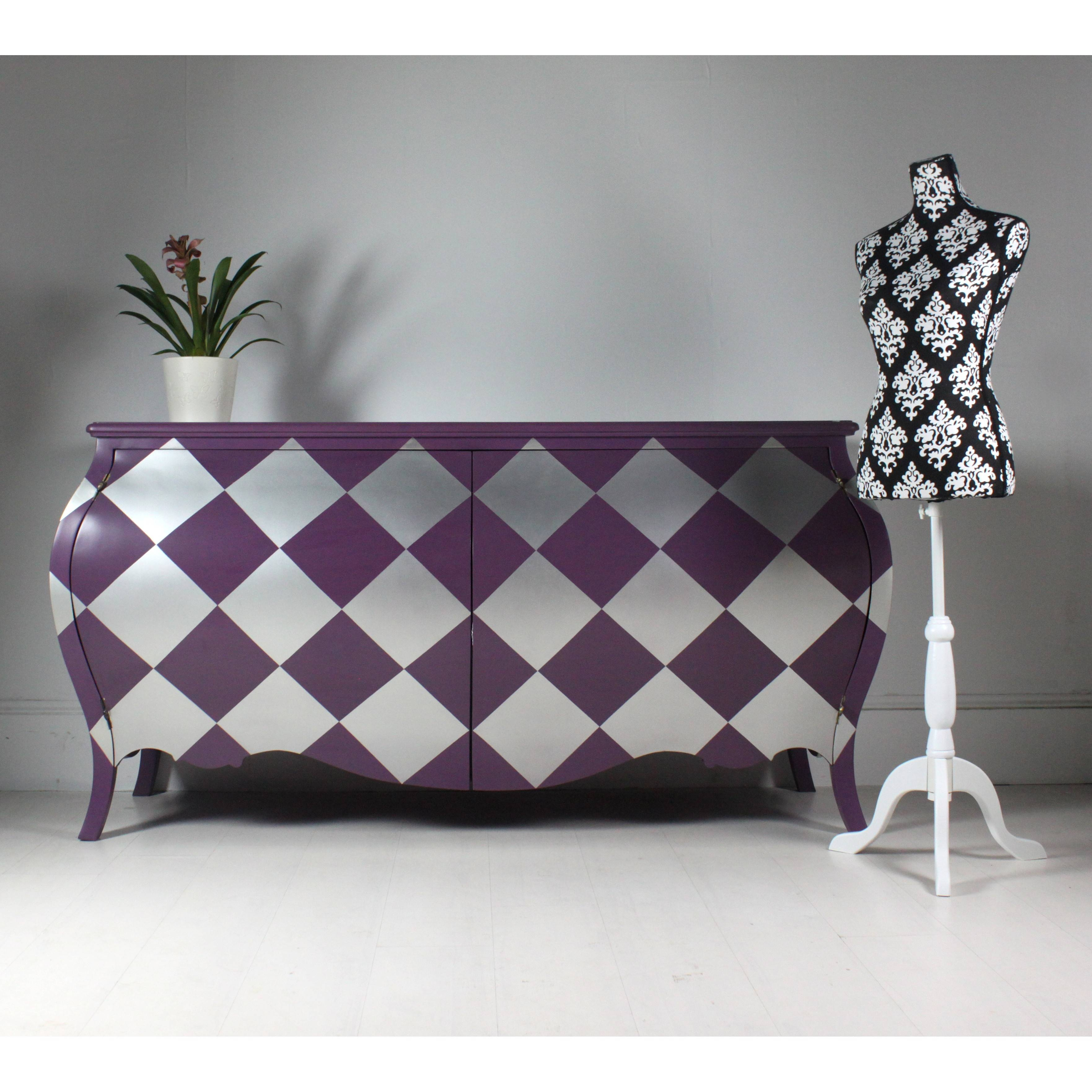 Harlequin Sideboard In Purple Pertaining To Purple Sideboard (#6 of 20)