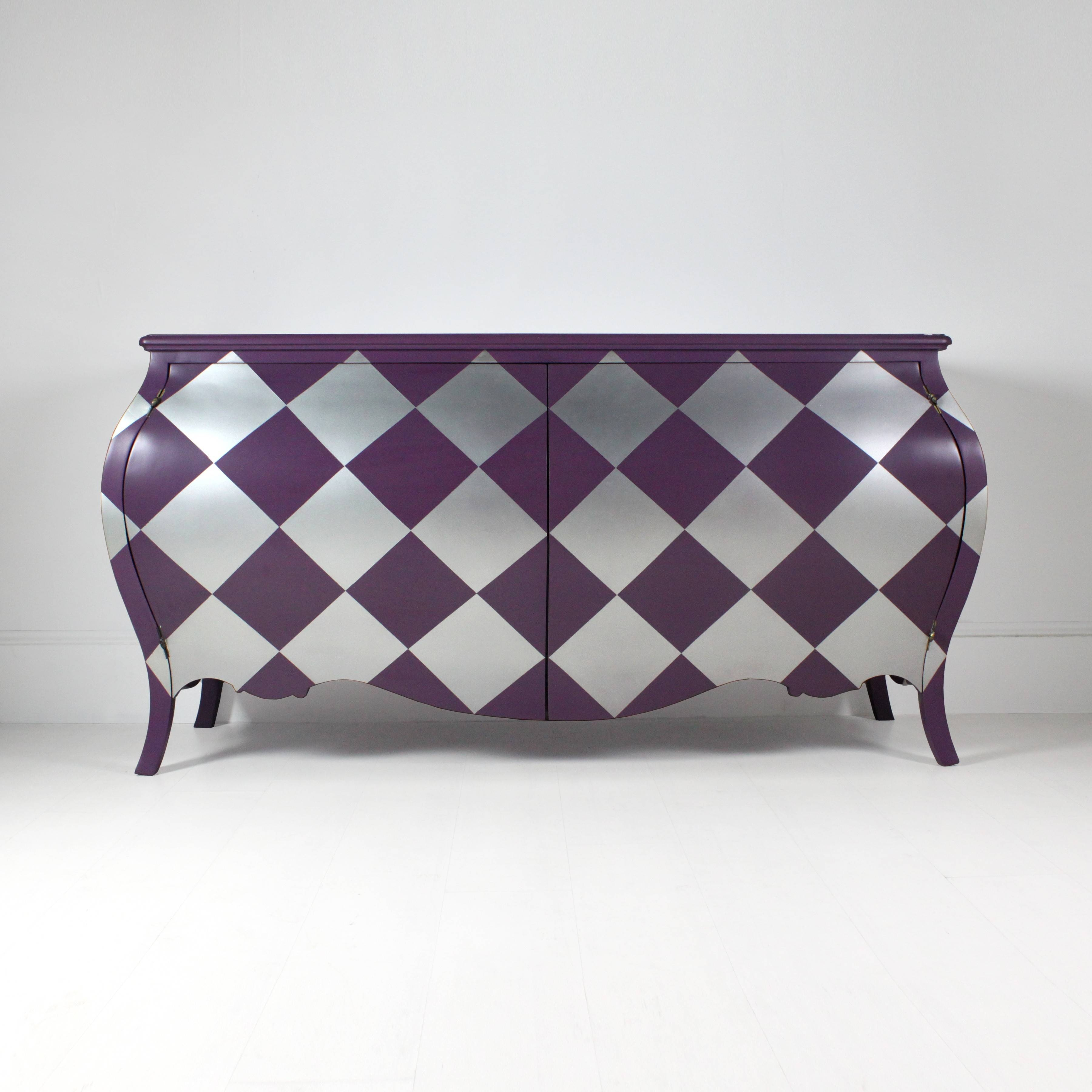 Harlequin Sideboard In Purple Pertaining To Purple Sideboard (#5 of 20)