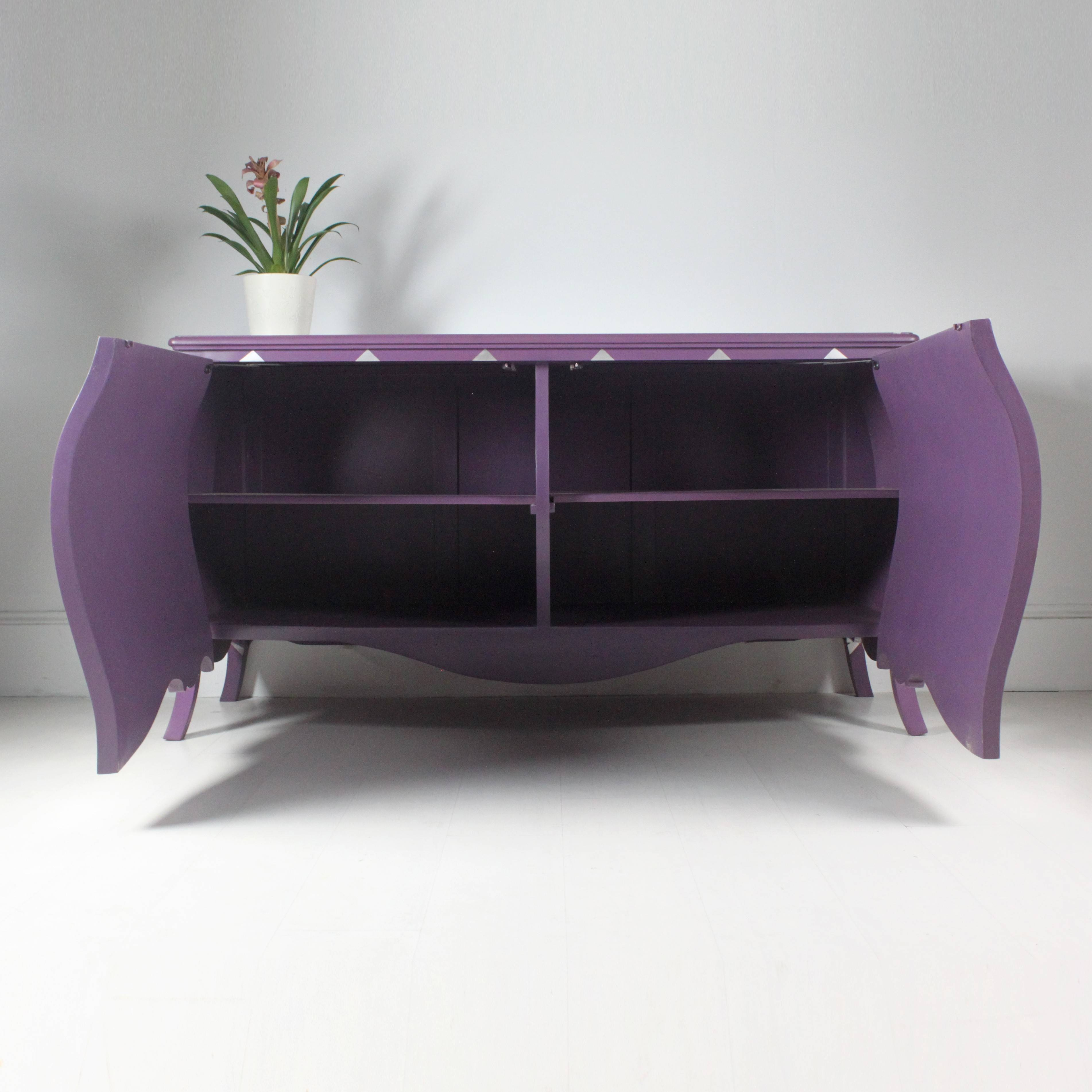 Harlequin Sideboard In Purple Regarding Purple Sideboard (#7 of 20)
